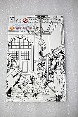 Ghostbusters Crossing Over #1 RI-A Joe Quinones Retailer Incentive Variant Cover