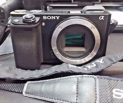 Pre-Owned Sony Alpha A6000 | 24.3 Mp | Ilce6000/b | Digital Camera | Black