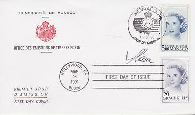 Czeslaw Slania Stamps Monaco & Usa Grace Kelly Cover Signed Collection
