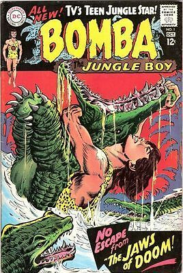Bomba the Jungle Boy #1 (Sep-Oct 1967, DC) F+