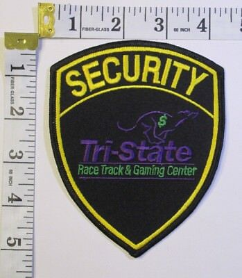 Tri State Race Track Security Division West Virginia Shoulder Patch
