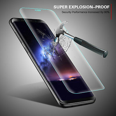 For New Samsung Galaxy S9 / S9 Plus Accessory Tempered Glass Screen Protector