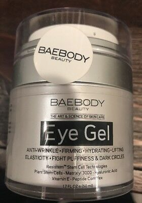Baebody Eye Gel For Dark Circles, Puffiness, Wrinkles and Bags 1.7 fl oz