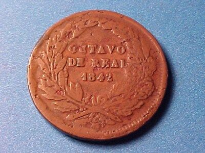Mexico 1/8 Real (Octavo) 1842 Nice For Issue