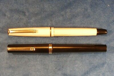 "Vintage ""OSMIROID"" Pair of 75 CALLIGRAPHY Fountain Pens Lettering Set W /2 Nibs"