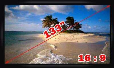 Antra™ PSF-133A 133 Inch 16:9 Fixed Frame Projector Projection Screen New PVC Wh