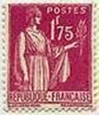 "FRANCE STAMP TIMBRE N° 289 "" TYPE PAIX 1F75 ROSE LILAS "" NEUF xx  TTB"