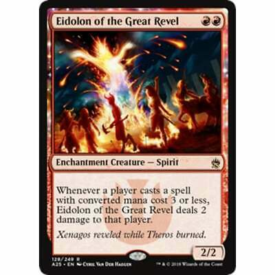 Magic: the Gathering MTG MASTERS 25 * Eidolon of the Great Revel