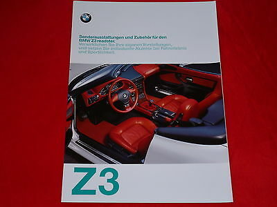 prospekt katalog brochure bmw z3 roadster. Black Bedroom Furniture Sets. Home Design Ideas