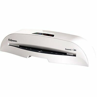 Fellowes Cosmic 2 A4 Home Office Laminator, 80-125 Micron, Including 10 free pou