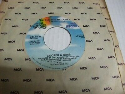 COOPER & ROSS: Only The Lonely (US-MCA/Sweet City 1982)