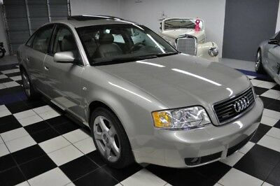 2004 Audi A6 ONLY 65K MILES - AUDI DEALER SERVICED - AMAZING CONDITION - FLORIDA CAR - CERTIFIED CARFAX