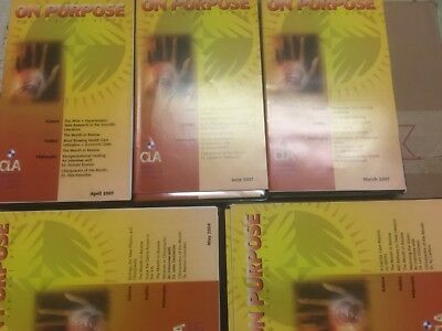 Chiropractic lot 5 ON PURPOSE cassette sets Gentempo Epstein DePice