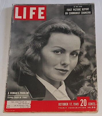 October 17, 1949 LIFE Magazine 40s Advertising ads add ad  FREE SHIPPING Oct 10