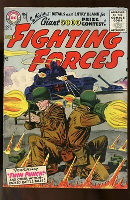 Our Fighting Forces #14 Very Good 1956 Dc Comics
