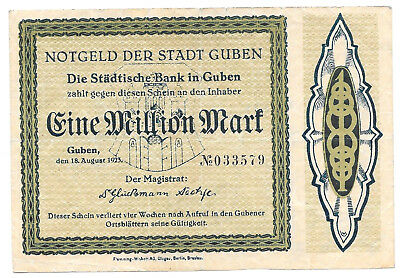 Guben - 1 Million Mark - 18.8.1923