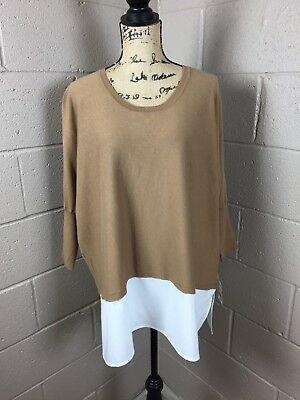 183f709dc6bd7 NEW Women Tan Style   Co Plus Size Sweater Top NWT Macys  69 Shirt 1X XL
