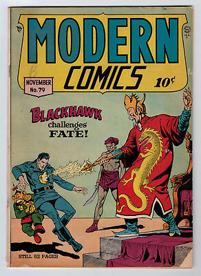 Modern Comics #79 3.0 1948 Off-White/white Pages