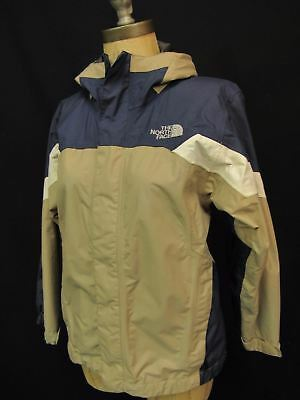 The North Face Hyvent Tri Climate Shell Blue Boys Hooded Jacket Medium 10/12