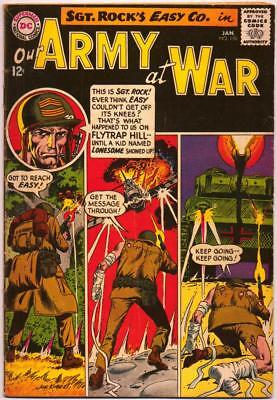 Our Army At War 150 Sgt Rock Joe Kubert Ross Andru Dc Silver Age 1965 Nr