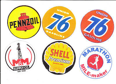 gas and oil rig hardhat decal sticker oilfield gaswell O11