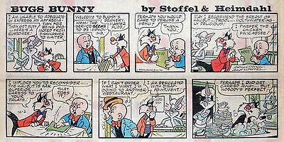 Bugs Bunny - Warner Bros. - lot of 21 color Sunday comic pages from late 1979
