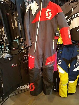 Scott Monosuit DS Dark Grey/Red Med