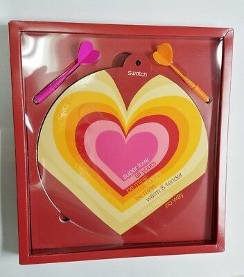 Swatch Aiming For Your Heart Special Packaging Dart Board With Darts