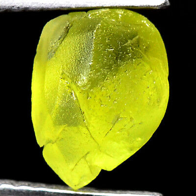 TOP IF FLAWLESS 1.90ct NATURAL100% UNHEATED CHRYSOBERYL ROUGH FACET NR!