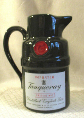 """Imported Tanqueray Special Dry Distilled English Gin  7"""" Pitcher/jug"""