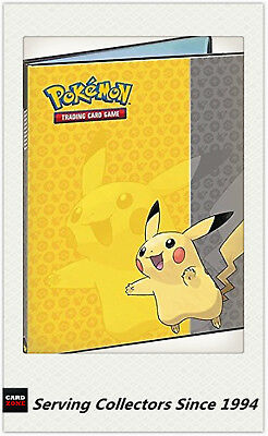 Official Pokemon Card PIKACHU ULTRO PRO A4 Portfolio 9 Card Album holds 180 card