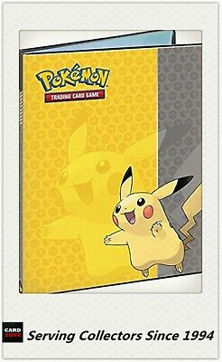 Official Pokemon Card POKEBALL ULTRO PRO A4 Portfolio 9 Card Album holds180 card