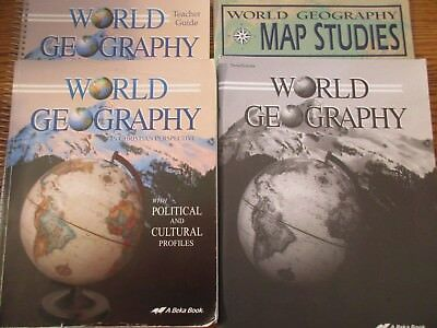 Abeka 9th grade world geography 9 quizzestests map studies abeka world geography set gumiabroncs Gallery