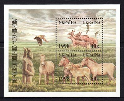 Ukraine 1998 Centenary New Askaniya National Park M/S  MNH