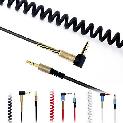 3.5mm Audio Cable Jack To Jack 90 Degree Right Angle Aux Cable For Android / PC