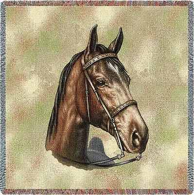 Lap Square Blanket - Tennessee Walking Horse by Robert May 1733