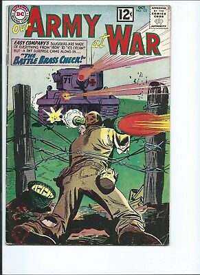 Our Army At War 123 - Vg+ 4.5 - Sgt. Rock - Easy Company (1962)