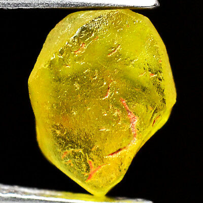 TOP IF FLAWLESS 2.15ct NATURAL100% UNHEATED CHRYSOBERYL ROUGH FACET NR!