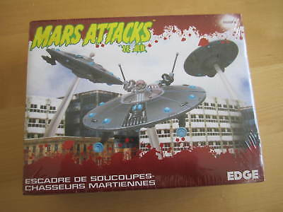 Mars Attacks: The Miniatures Game - Martian Saucer Squadron RAR / NOT Zombicide