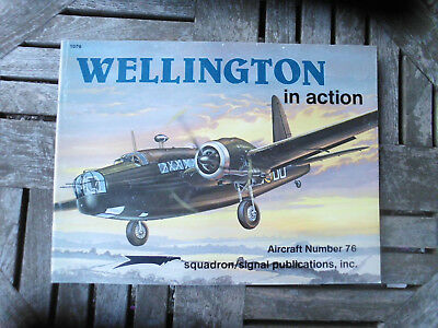 Zeitschrift WELLINGTON in action No. 76 squadron/signal