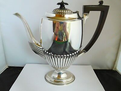 Lovely Large Edwardian Queen Anne Style Coffee Pot