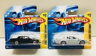 2007 Hot Wheels First Edition 2 x Buick Grand National