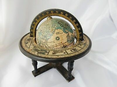 Lovely Miniature Globe In Vintage Style