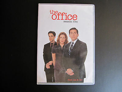 THE OFFICE - TV Series- Season Five - DVD Set - 2 Discs / One and Two