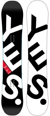 Yes. The Basic Hybrid Camber Snowboard, 158cm 2018