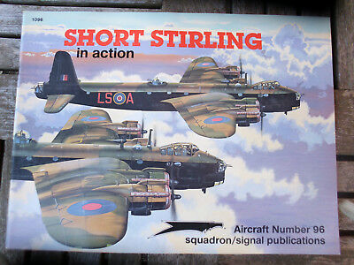 Zeitschrift SHORT STIRLING in action, No. 96, squadron/signal