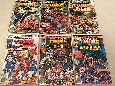 Marvel Two-In-One (1974) - The Thing, Moon Knight, Avengers, Ant-Man - Fair/Good