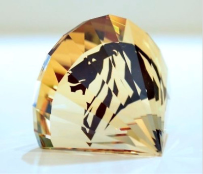 Swarovski 5135901 SCS PAPERWEIGHT LION HEAD 100% AUTHENTIC BRAND NEW