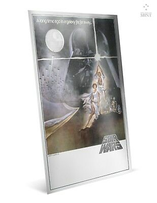 2018 Star Wars: A New Hope | Premium 35g Silver Foil FIRST RELEASE