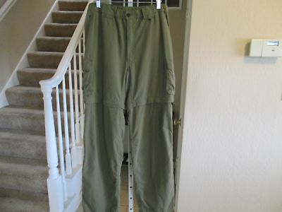 Boy Scouts Of America Switchback Uniform Convertible Pants to Shorts Mens M